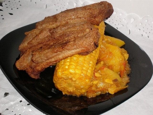 60089bfd39c4e90e37ccd64af3e7cb70 - ▷ Costillas fritas con Piñas estofadas 🐖