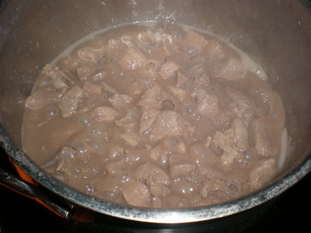 Carne hervida