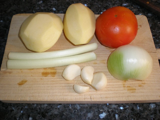 Verduras - Montaña de verdura en wok