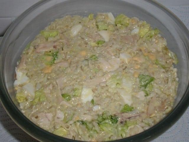 bca1dd559f75f65255fb90327f144139 - Ensalada de pollo y arroz