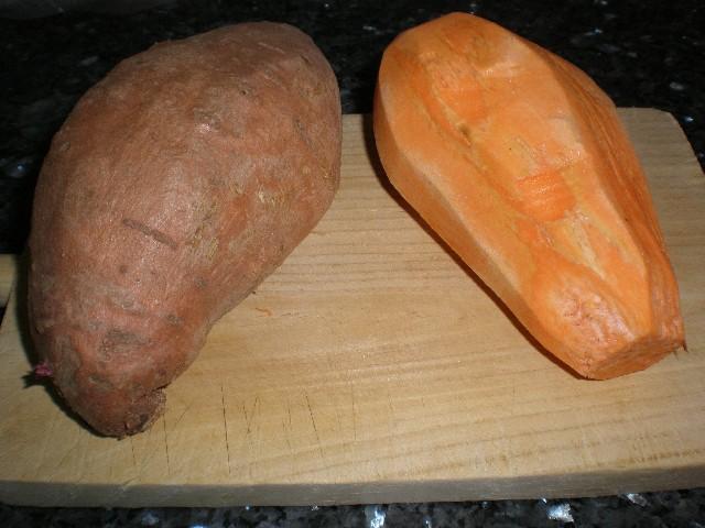 Batatas amarillas