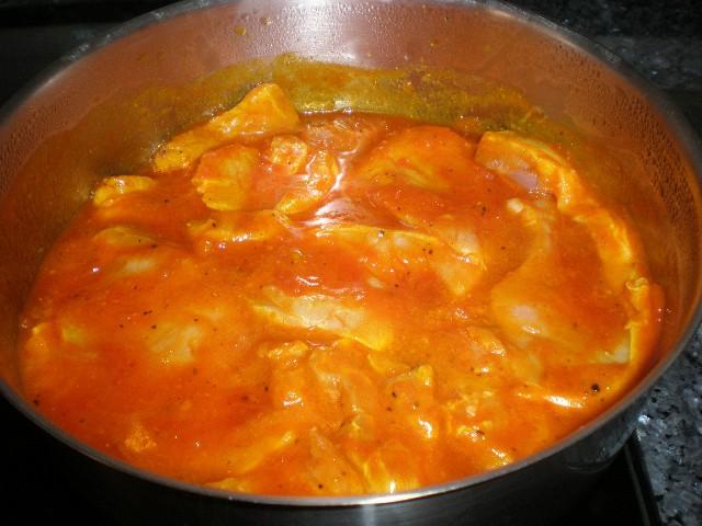 Lomo con tomate