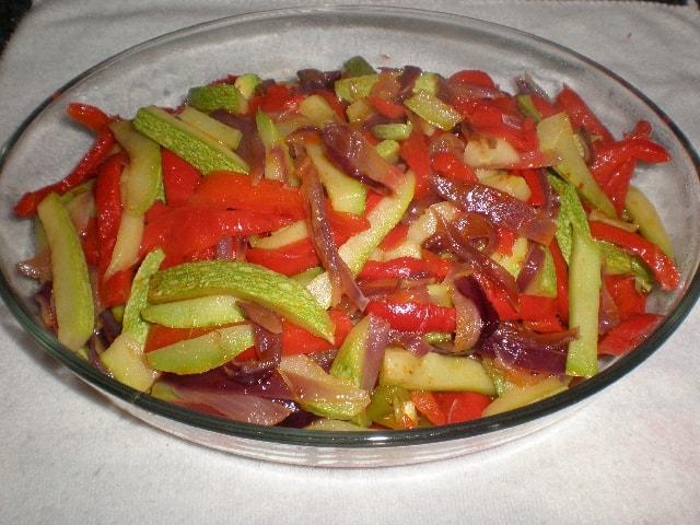 Verdura al dente con pimienta 2