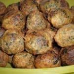 ▷ Bolitas de pollo y espinacas 🐓 🍃