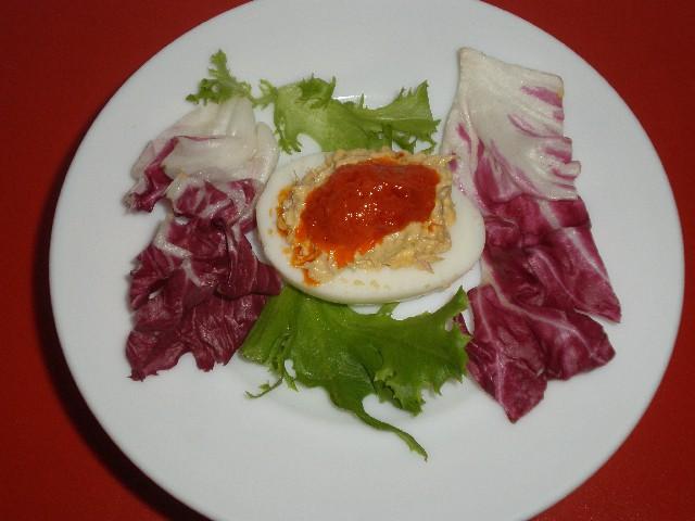 Tapa de huevo relleno 1 - Tapa de huevo relleno