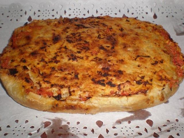 Empanada con costra de tomate 2 - Empanada con costra de tomate