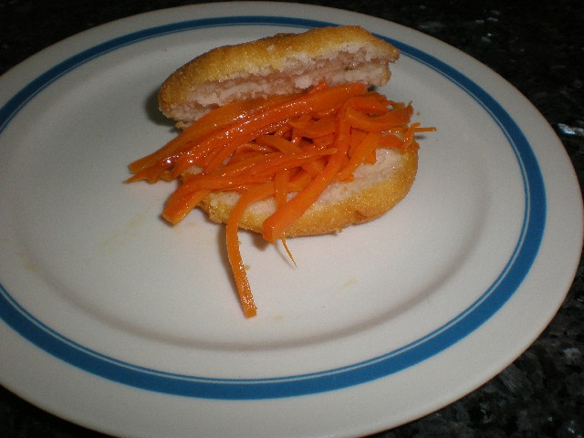 Poner zanahorias - ▷ Tortitas de maíz fritas (1)