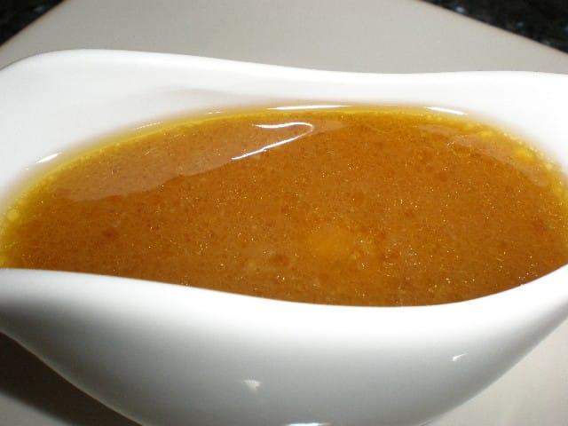 Salsa de pollo asado en bolsa