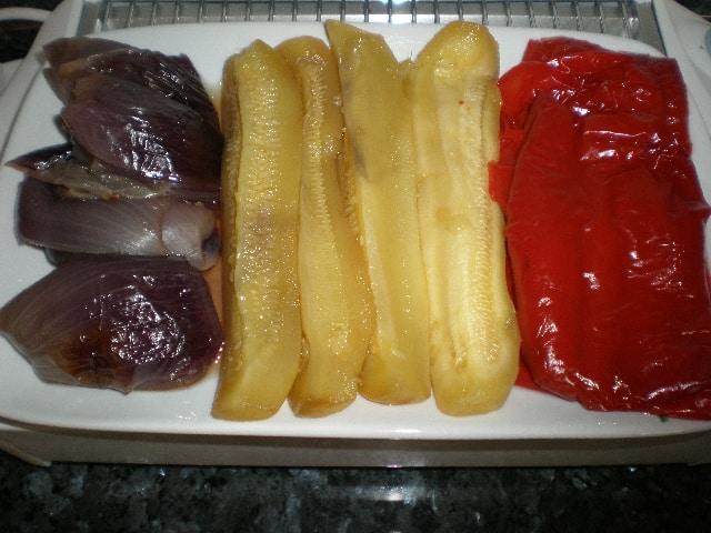 Verduras embolsadas