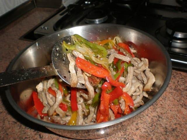 Secreto ibérico con verdura