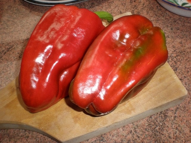 Pimentos rojos