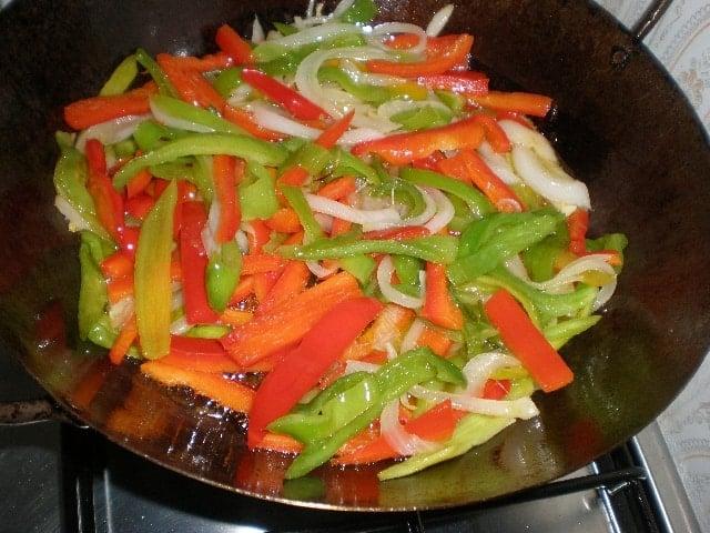 Sofreír verdura
