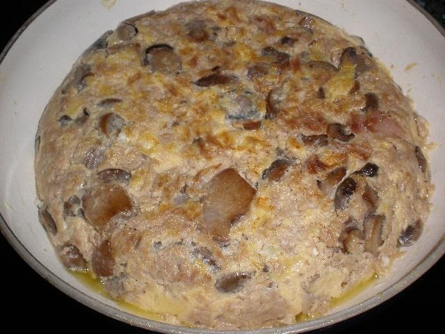 Tortilla guisada - Tortilla de invierno
