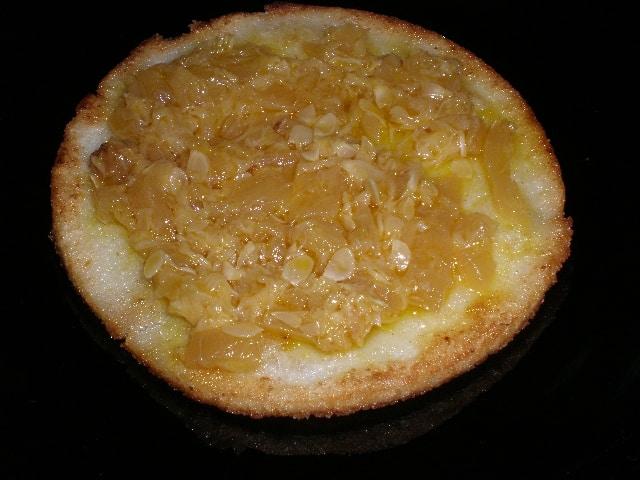 Tortita de maíz con poche de calabacín