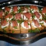 ▷ Canapés de salmón 🥙