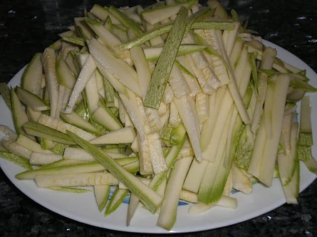 Juliana de calabacines - ▷ Dente de verdura al wok 🥕 🥒