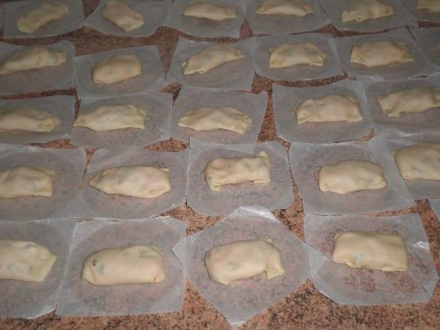 Pastelillos de boniato