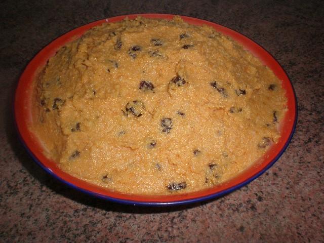 Relleno para pastelillos de boniato