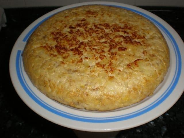 Tortilla de papas y pl%C3%A1tanos 1 - Tortilla de papas y plátanos