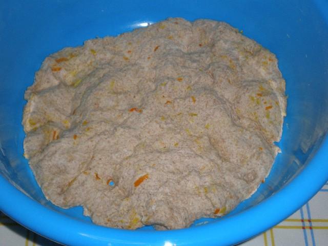 Masa de Torta de pan con cítricos