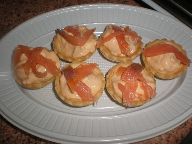 Mini tartaletas marineras