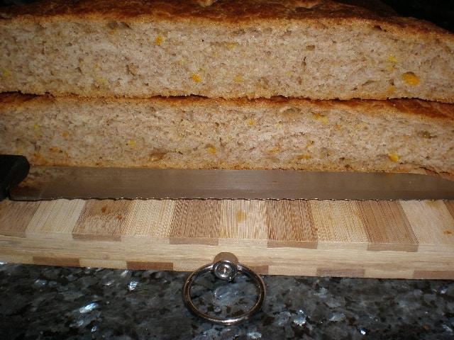 Torta de pan con cítricos