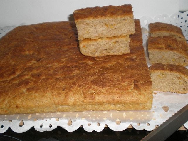 Torta troceada 1 - ▷ Torta de pan con cítricos 🍞