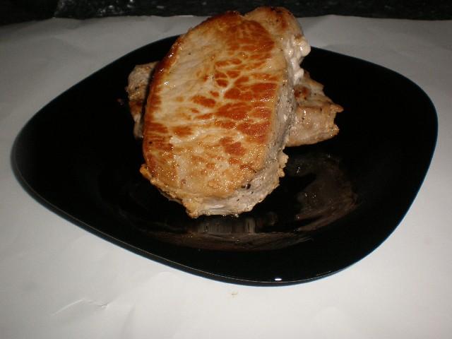 Lomo con pimienta frita