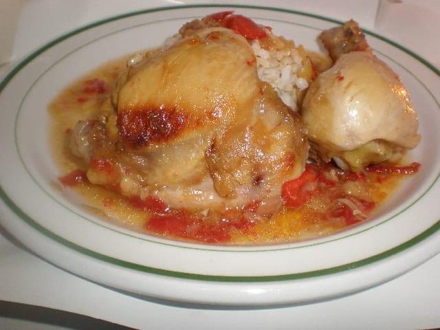 Pollo al jengibre 2