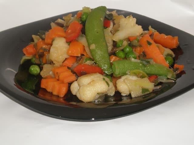 Salteado de verdura - Salteado de verdura congelada