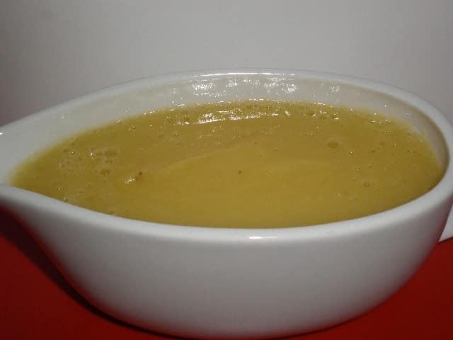 Crema de manzana con stevia 2