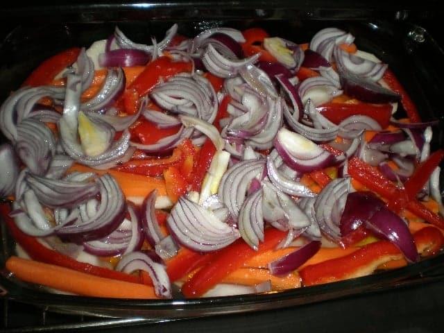 Meter verdura en horno - ▷ Chuletas y verdura al horno ?