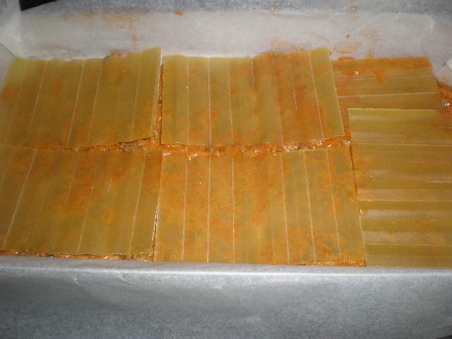 Poner pasta lasaña