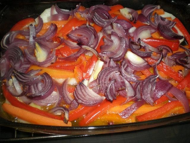 Verdura horneada 1 - ▷ Chuletas y verdura al horno ?