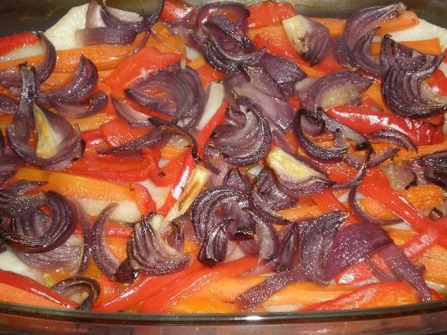 Verdura horneada 2 - ▷ Chuletas y verdura al horno ?