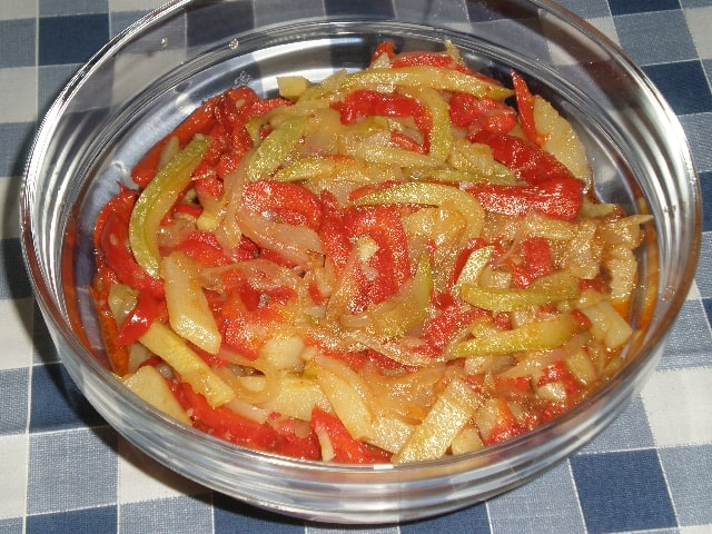 Verdura pochada 2 - Verdura pochada