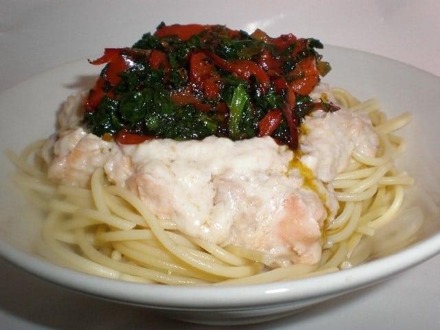 17514b8d76391f2e346f3959ce956286 - Pasta de quinoa a los dos pescados