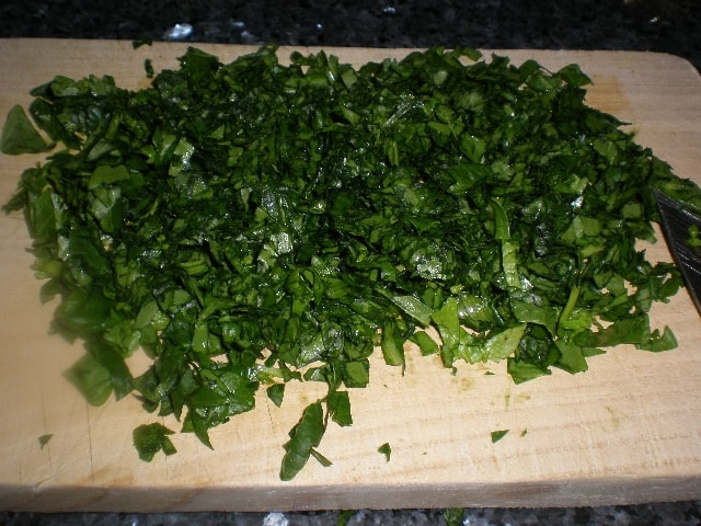 Espinacas 2 - Pasta de quinoa a los dos pescados
