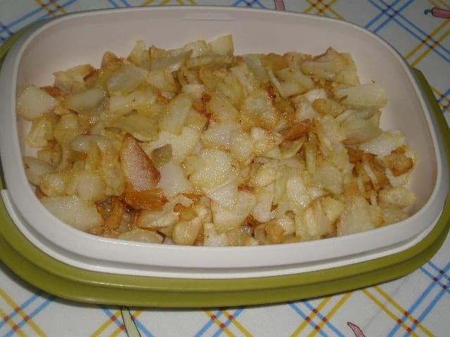 Papas fritas 2 - Atún blanco con papas fritas
