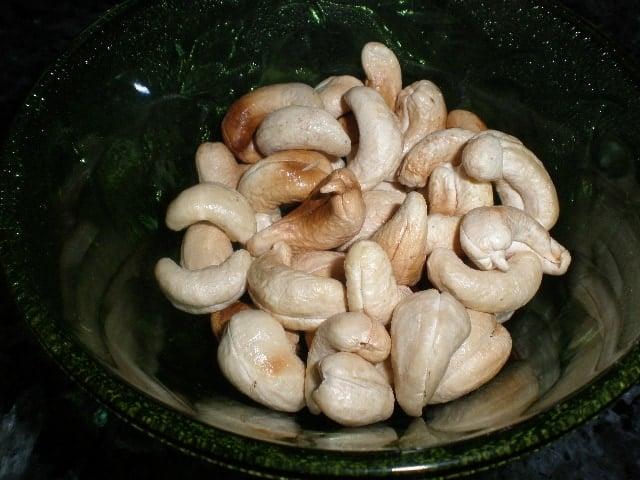 Anacardos tostados - Ensalada de anacardos