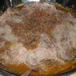 ▷ Fideos de arroz con salsa de carne 🍝