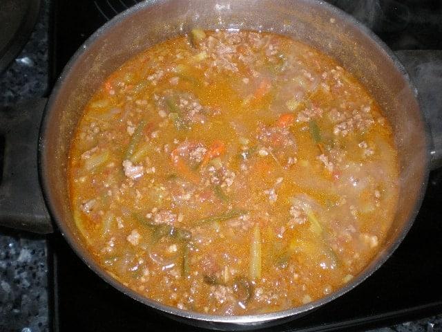 Reposar salsa - ▷ Fideos de arroz con salsa de carne 🍝