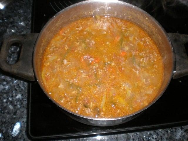 Salsa de carne - ▷ Fideos de arroz con salsa de carne 🍝