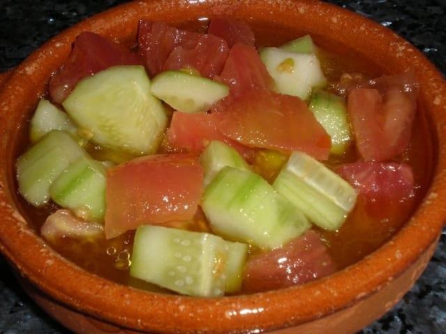 Cazuelilla de ensalada