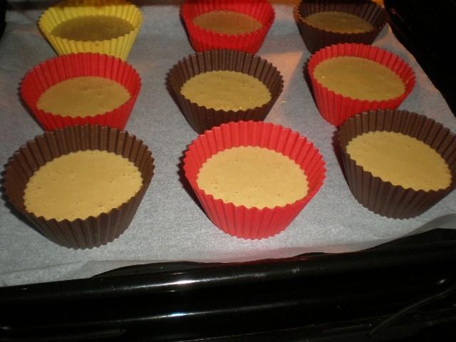 Moldes en el horno - ▷ Magdalenas de leche evaporada 🥧