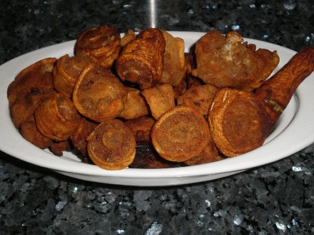 Rabo de cerdo enharinado frito  1 - ▷ Rabo de cerdo enharinado frito ?