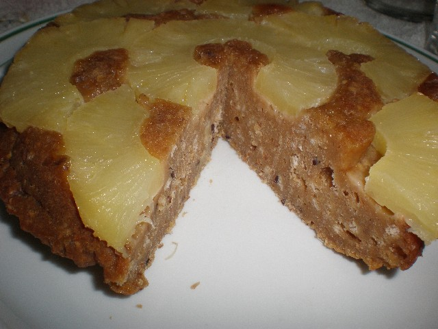 Tat%C3%ADn de pi%C3%B1a y galletas 3 - Tatín de piña y galletas