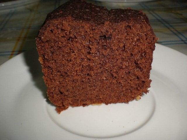 Trozo de bizcoch%C3%B3n con cacao 1 - Bizcochón con cacao