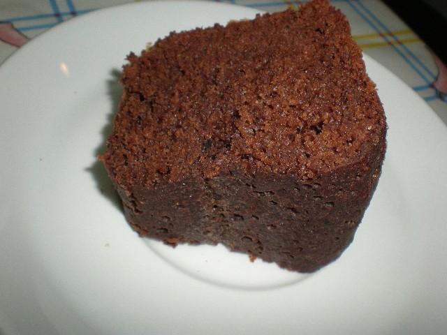 Trozo de bizcoch%C3%B3n con cacao 2 - Bizcochón con cacao