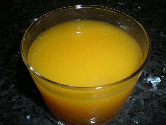 Zumo de naranja - ▷ Compota de plátano 🍌